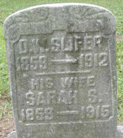 SLIFER, SARAH S. - Preble County, Ohio | SARAH S. SLIFER - Ohio Gravestone Photos