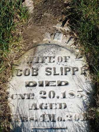 SLIPPE, SARAH - Preble County, Ohio   SARAH SLIPPE - Ohio Gravestone Photos