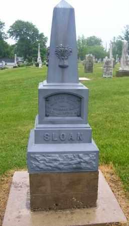 SLOAN, WILLIAM - Preble County, Ohio | WILLIAM SLOAN - Ohio Gravestone Photos