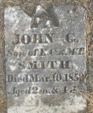 SMITH, JOHN G. - Preble County, Ohio   JOHN G. SMITH - Ohio Gravestone Photos
