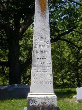 SMITH, MARIA CURRY - Preble County, Ohio | MARIA CURRY SMITH - Ohio Gravestone Photos