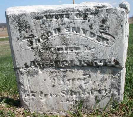 SNYDER, JACOB - Preble County, Ohio | JACOB SNYDER - Ohio Gravestone Photos