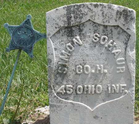 SOHAUR, SIMON - Preble County, Ohio | SIMON SOHAUR - Ohio Gravestone Photos