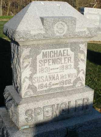 SPENGLER, SUSANNA - Preble County, Ohio | SUSANNA SPENGLER - Ohio Gravestone Photos