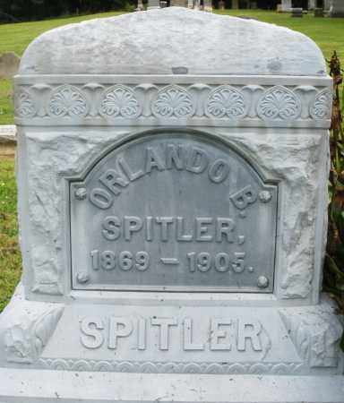 SPITLER, ORLANDO B. - Preble County, Ohio | ORLANDO B. SPITLER - Ohio Gravestone Photos