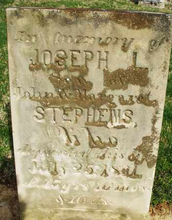 STEPHENS, JOSEPH L. - Preble County, Ohio | JOSEPH L. STEPHENS - Ohio Gravestone Photos