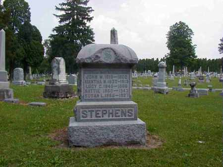 STEPHENS, NATTIE - Preble County, Ohio | NATTIE STEPHENS - Ohio Gravestone Photos