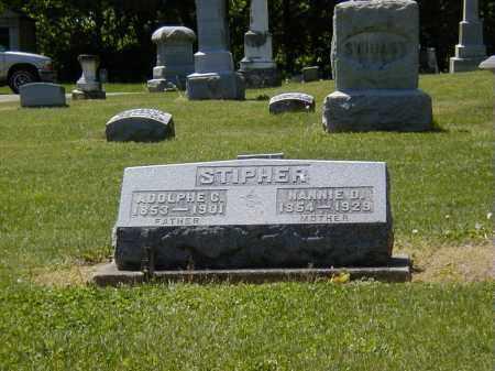 STIPHER, ADOLPHE G. - Preble County, Ohio | ADOLPHE G. STIPHER - Ohio Gravestone Photos