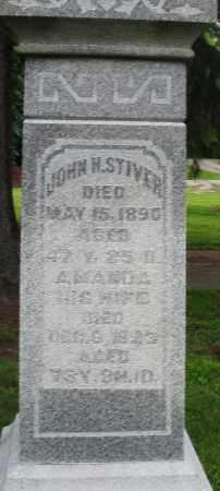 STIVER, JOHN H. - Preble County, Ohio   JOHN H. STIVER - Ohio Gravestone Photos