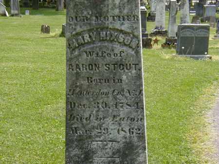 STOUT, MARY HIXSON - Preble County, Ohio | MARY HIXSON STOUT - Ohio Gravestone Photos