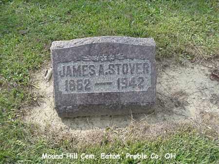 STOVER, JAMES - Preble County, Ohio | JAMES STOVER - Ohio Gravestone Photos