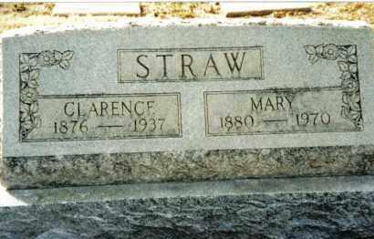 STRAW, MARY - Preble County, Ohio | MARY STRAW - Ohio Gravestone Photos