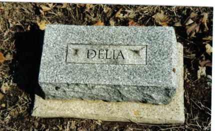 STRAW, DELIA - Preble County, Ohio   DELIA STRAW - Ohio Gravestone Photos