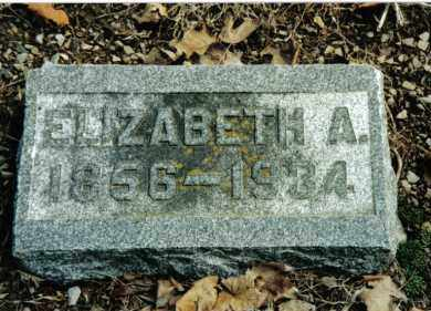 STRAW, ELIZABETH A. - Preble County, Ohio | ELIZABETH A. STRAW - Ohio Gravestone Photos