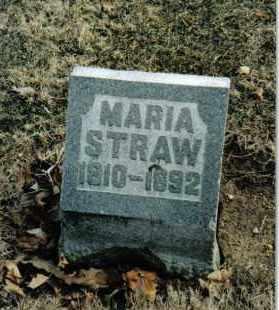 HUFFMAN STRAW, MARIA - Preble County, Ohio | MARIA HUFFMAN STRAW - Ohio Gravestone Photos
