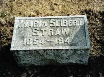 STRAW, MARIA - Preble County, Ohio   MARIA STRAW - Ohio Gravestone Photos