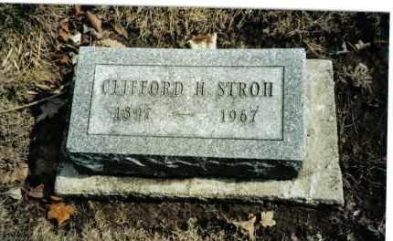 STROH, CLIFFORD H. - Preble County, Ohio | CLIFFORD H. STROH - Ohio Gravestone Photos