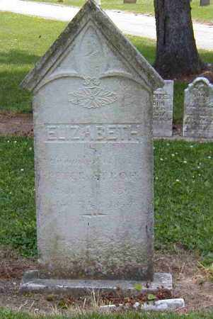 STROH, ELIZABETH - Preble County, Ohio | ELIZABETH STROH - Ohio Gravestone Photos