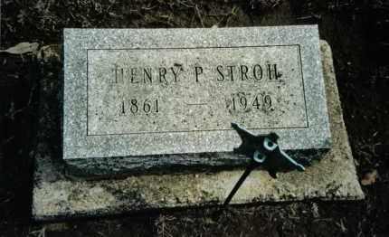 STROH, HENRY P. - Preble County, Ohio | HENRY P. STROH - Ohio Gravestone Photos