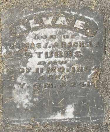 STUBBS, ALVA E. - Preble County, Ohio   ALVA E. STUBBS - Ohio Gravestone Photos