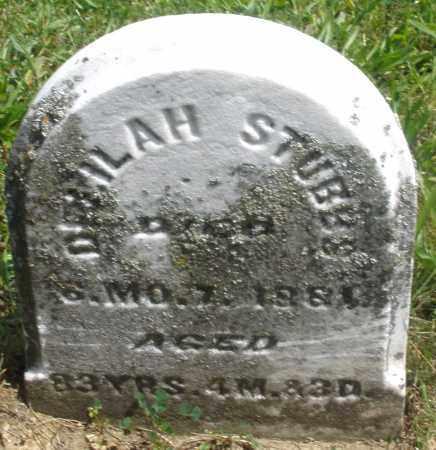 STUBBS, DELILAH - Preble County, Ohio | DELILAH STUBBS - Ohio Gravestone Photos