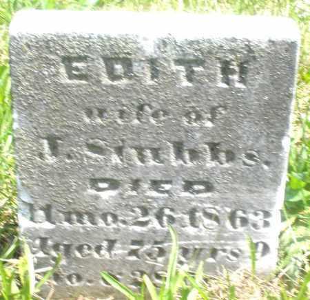 STUBBS, EDITH - Preble County, Ohio   EDITH STUBBS - Ohio Gravestone Photos