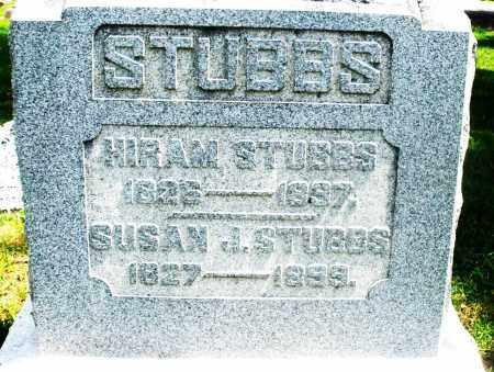 STUBBS, SUSAN J. - Preble County, Ohio | SUSAN J. STUBBS - Ohio Gravestone Photos