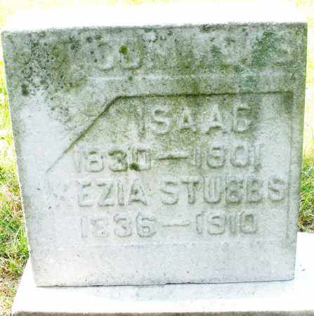 STUBBS, ?EZIA - Preble County, Ohio   ?EZIA STUBBS - Ohio Gravestone Photos