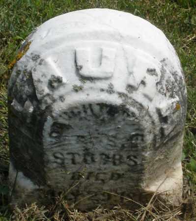 STUBBS, LAURA - Preble County, Ohio | LAURA STUBBS - Ohio Gravestone Photos