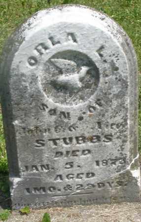 STUBBS, ORLA L. - Preble County, Ohio | ORLA L. STUBBS - Ohio Gravestone Photos