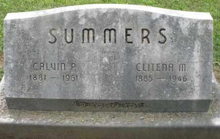SUMMERS, CALVIN P. - Preble County, Ohio | CALVIN P. SUMMERS - Ohio Gravestone Photos
