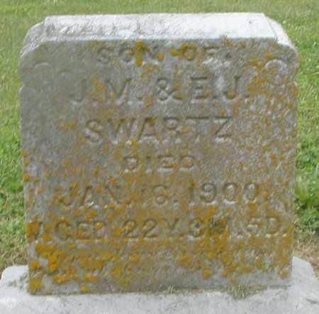 SWARTZ, SON - Preble County, Ohio | SON SWARTZ - Ohio Gravestone Photos
