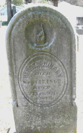 SWIHART, HENRY - Preble County, Ohio | HENRY SWIHART - Ohio Gravestone Photos