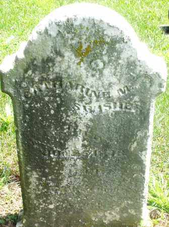 SWISHER, CATHERINE M. - Preble County, Ohio | CATHERINE M. SWISHER - Ohio Gravestone Photos