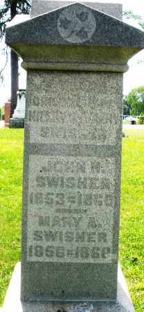 SWISHER, MARY A. - Preble County, Ohio | MARY A. SWISHER - Ohio Gravestone Photos