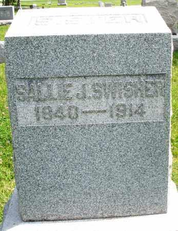 SWISHER, SALLIE J. - Preble County, Ohio | SALLIE J. SWISHER - Ohio Gravestone Photos