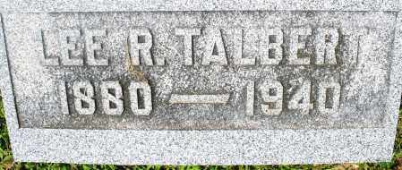 TALBERT, LEE R. - Preble County, Ohio | LEE R. TALBERT - Ohio Gravestone Photos
