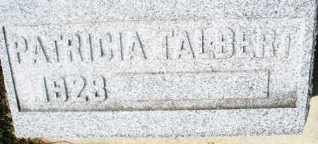 TALBERT, PATRICIA - Preble County, Ohio   PATRICIA TALBERT - Ohio Gravestone Photos