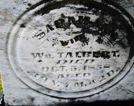 TALBERT, SARAH - Preble County, Ohio | SARAH TALBERT - Ohio Gravestone Photos