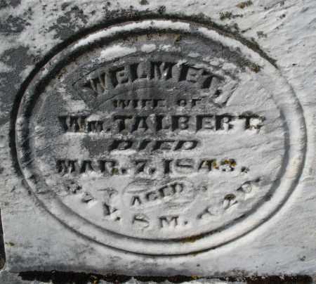 TALBERT, WELMET - Preble County, Ohio | WELMET TALBERT - Ohio Gravestone Photos