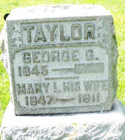 TAYLOR, MARY I. - Preble County, Ohio | MARY I. TAYLOR - Ohio Gravestone Photos