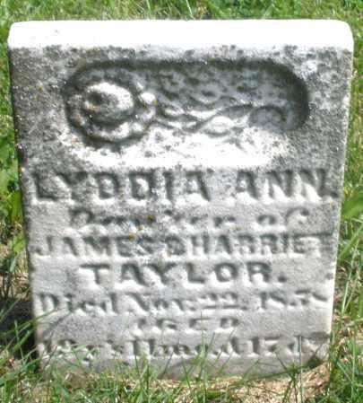 TAYLOR, LYDDIA ANN - Preble County, Ohio   LYDDIA ANN TAYLOR - Ohio Gravestone Photos