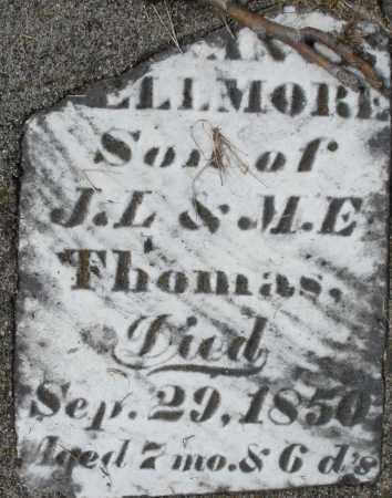 THOMAS, ?-ELLMORE - Preble County, Ohio | ?-ELLMORE THOMAS - Ohio Gravestone Photos