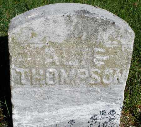 THOMPSON, A. ? - Preble County, Ohio   A. ? THOMPSON - Ohio Gravestone Photos