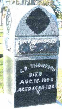 THOMPSON, C.B. - Preble County, Ohio   C.B. THOMPSON - Ohio Gravestone Photos