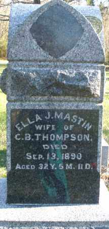 THOMPSON, ELLA J. - Preble County, Ohio | ELLA J. THOMPSON - Ohio Gravestone Photos