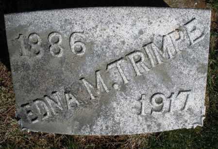TRIMPE, EDNA M. - Preble County, Ohio | EDNA M. TRIMPE - Ohio Gravestone Photos