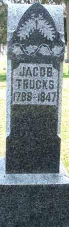 TRUCKS, JACOB - Preble County, Ohio | JACOB TRUCKS - Ohio Gravestone Photos