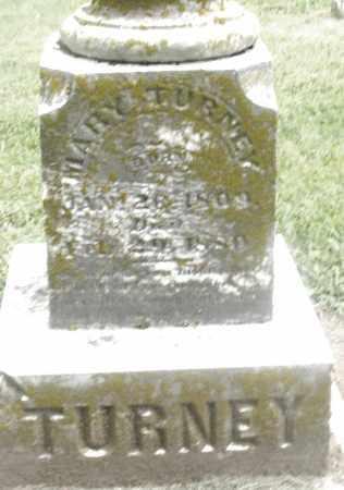 TURNEY, MARY - Preble County, Ohio   MARY TURNEY - Ohio Gravestone Photos