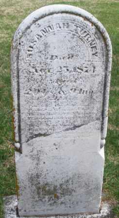 TURNEY, SUSANNAH - Preble County, Ohio | SUSANNAH TURNEY - Ohio Gravestone Photos